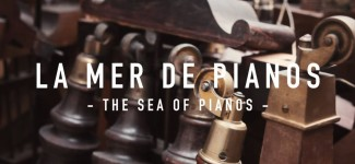 La Mer de Pianos (The Sea of Pianos) The oldest piano shop in Paris