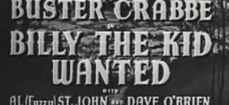 Billy the Kid Wanted (1941) Westerns Full Movies English