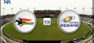 Cricket – PWI vs MI Pepsi IPL 2013 Full Match Replay