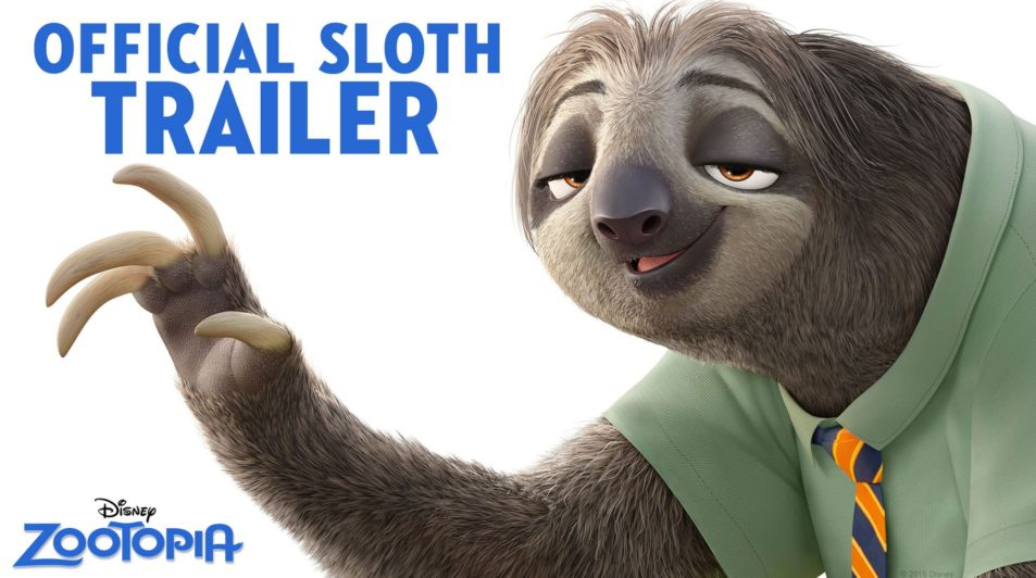 Zootopia Official US Sloth Trailer – Walt Disney Animation Studios