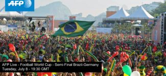 Football World Cup 2014 Semi-Final – Brazil Vs Germany