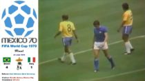 Brazil Vs Italy – Football World Cup Mexico 1970