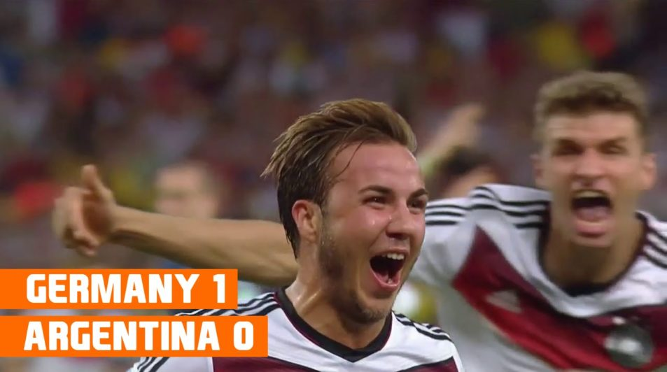 Germany vs Argentina Football World Cup 2014 Highlights