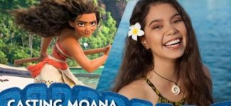 Casting Moana – Introducing Auli'i Cravalho – Walt Disney Animated Movie