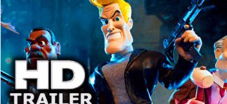 CHUCK STEEL 2 Official Trailer (2017) Night Of The Trampires, Stop Motion Action Animation Movie