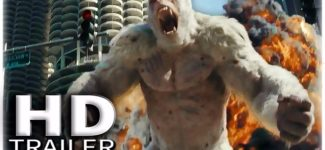 RAMPAGE Trailer (2018) Dwayne Johnson, Retro Video Game Inspired Movie Trailer HD