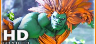 STREET FIGHTER 5 Blanka Trailer (2018) New Insane Gameplay HD