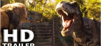 "JURASSIC WORLD 2 ""T-Rex vs Lion"" Trailer (2018) Chris Pratt, Jurassic Park Dinosaur Movie HD"