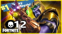 THANOS INFINITY GAUNTLET Trailer + Thanos in Fortnite Gameplay (2018) NEW Marvel, Fortnite BR