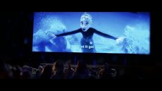 Frozen Sing-Along – Now Playing in Theatres