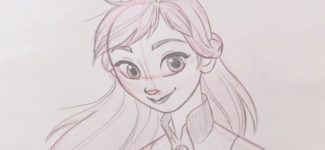 How to Draw Anna from Frozen 2 l #DrawWithDisneyAnimation
