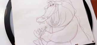 How To Draw Louis from The Princess and the Frog l #DrawWithDisneyAnimation