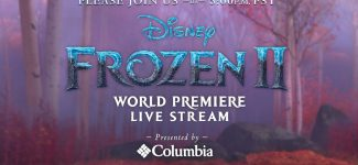 Live at the Frozen 2 World Premiere – Presented by Columbia